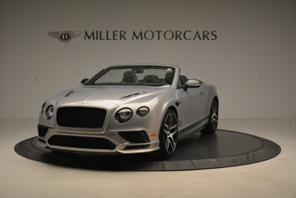 Used 2018 Bentley Continental GT Supersports Convertible for sale Sold at Pagani of Greenwich in Greenwich CT 06830 1
