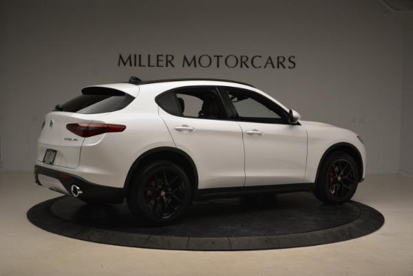 New 2018 Alfa Romeo Stelvio Ti Sport Q4 for sale Sold at Pagani of Greenwich in Greenwich CT 06830 8