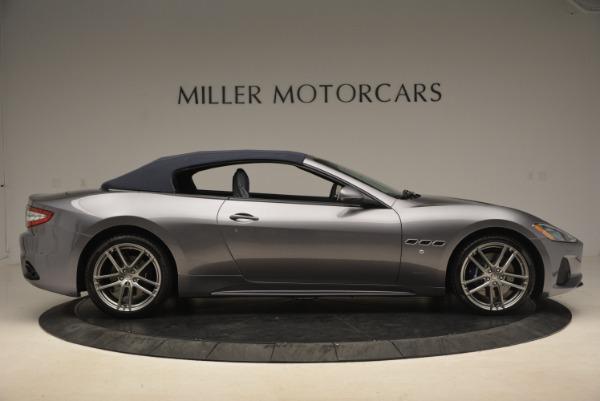New 2018 Maserati GranTurismo Sport Convertible for sale Sold at Pagani of Greenwich in Greenwich CT 06830 9