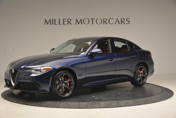 New 2018 Alfa Romeo Giulia Ti Sport Q4 for sale Sold at Pagani of Greenwich in Greenwich CT 06830 2