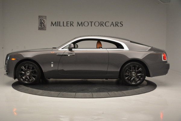 New 2018 Rolls-Royce Wraith Luminary Collection for sale Sold at Pagani of Greenwich in Greenwich CT 06830 2