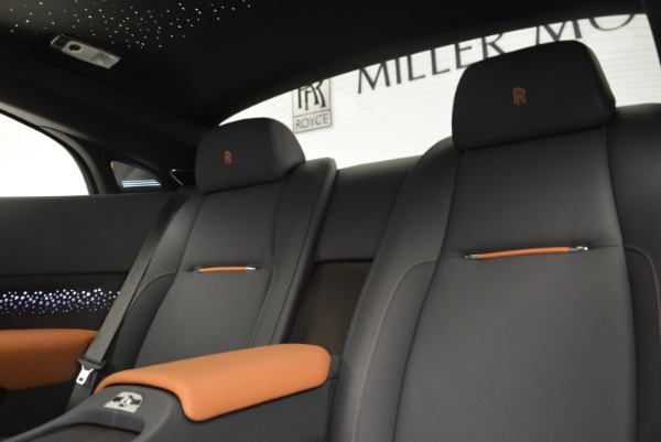 New 2018 Rolls-Royce Wraith Luminary Collection for sale Sold at Pagani of Greenwich in Greenwich CT 06830 20