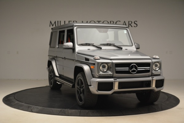 Used 2017 Mercedes-Benz G-Class AMG G 63 for sale Sold at Pagani of Greenwich in Greenwich CT 06830 11