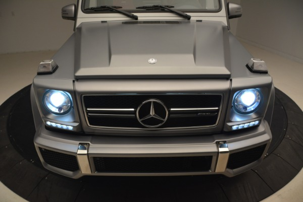 Used 2017 Mercedes-Benz G-Class AMG G 63 for sale Sold at Pagani of Greenwich in Greenwich CT 06830 15