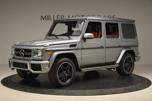 Used 2017 Mercedes-Benz G-Class AMG G 63 for sale Sold at Pagani of Greenwich in Greenwich CT 06830 2