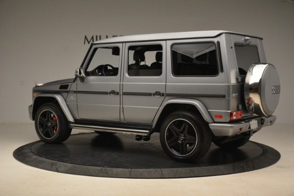 Used 2017 Mercedes-Benz G-Class AMG G 63 for sale Sold at Pagani of Greenwich in Greenwich CT 06830 4