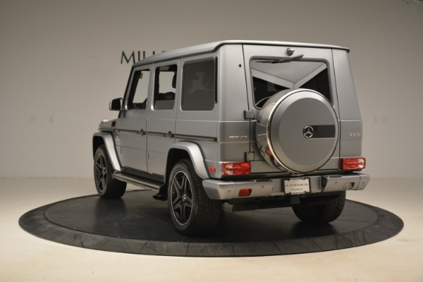 Used 2017 Mercedes-Benz G-Class AMG G 63 for sale Sold at Pagani of Greenwich in Greenwich CT 06830 5