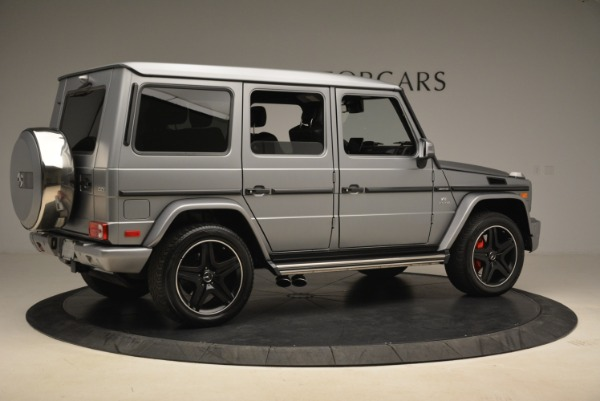 Used 2017 Mercedes-Benz G-Class AMG G 63 for sale Sold at Pagani of Greenwich in Greenwich CT 06830 8
