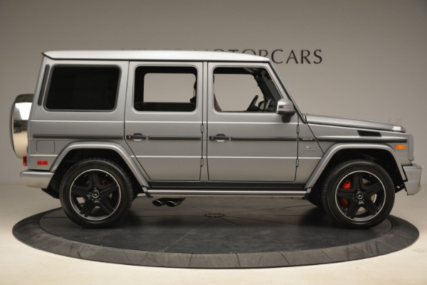 Used 2017 Mercedes-Benz G-Class AMG G 63 for sale Sold at Pagani of Greenwich in Greenwich CT 06830 9