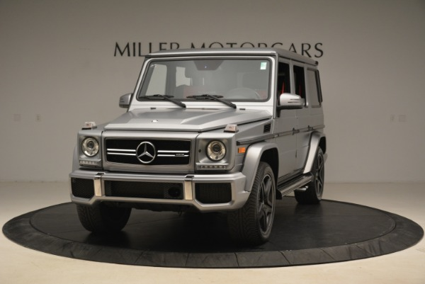 Used 2017 Mercedes-Benz G-Class AMG G 63 for sale Sold at Pagani of Greenwich in Greenwich CT 06830 1
