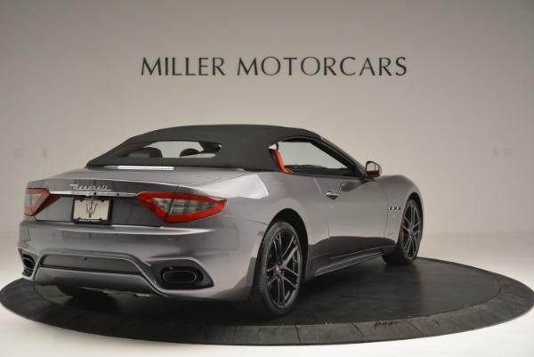 New 2018 Maserati GranTurismo Sport Convertible for sale Sold at Pagani of Greenwich in Greenwich CT 06830 19