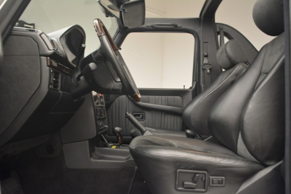 Used 2000 Mercedes-Benz G500 RENNTech for sale Sold at Pagani of Greenwich in Greenwich CT 06830 14