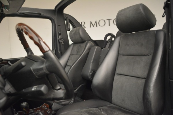 Used 2000 Mercedes-Benz G500 RENNTech for sale Sold at Pagani of Greenwich in Greenwich CT 06830 15