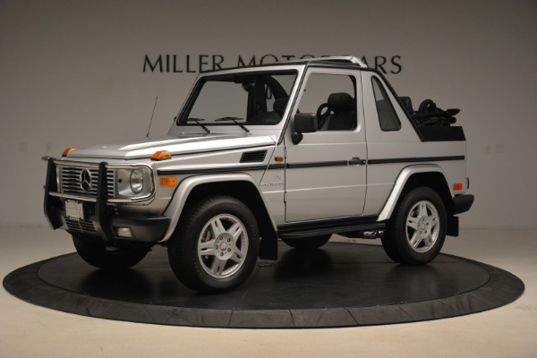 Used 2000 Mercedes-Benz G500 RENNTech for sale Sold at Pagani of Greenwich in Greenwich CT 06830 2