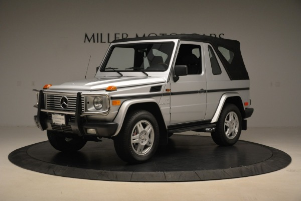 Used 2000 Mercedes-Benz G500 RENNTech for sale Sold at Pagani of Greenwich in Greenwich CT 06830 26