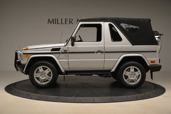 Used 2000 Mercedes-Benz G500 RENNTech for sale Sold at Pagani of Greenwich in Greenwich CT 06830 27