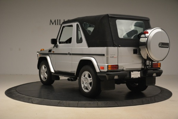 Used 2000 Mercedes-Benz G500 RENNTech for sale Sold at Pagani of Greenwich in Greenwich CT 06830 28