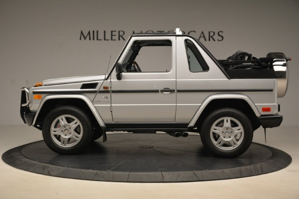 Used 2000 Mercedes-Benz G500 RENNTech for sale Sold at Pagani of Greenwich in Greenwich CT 06830 3