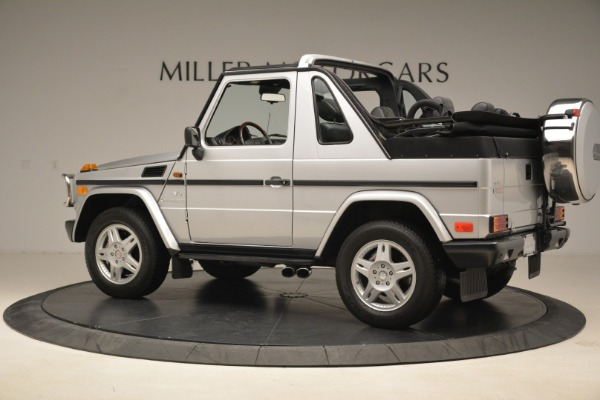 Used 2000 Mercedes-Benz G500 RENNTech for sale Sold at Pagani of Greenwich in Greenwich CT 06830 4