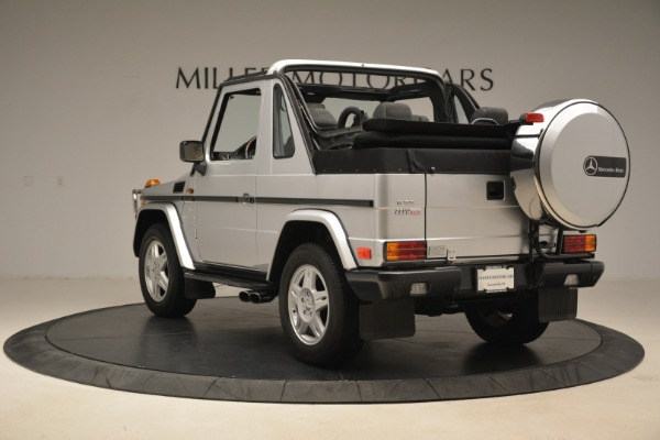 Used 2000 Mercedes-Benz G500 RENNTech for sale Sold at Pagani of Greenwich in Greenwich CT 06830 5