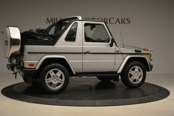 Used 2000 Mercedes-Benz G500 RENNTech for sale Sold at Pagani of Greenwich in Greenwich CT 06830 8
