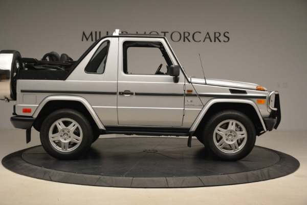 Used 2000 Mercedes-Benz G500 RENNTech for sale Sold at Pagani of Greenwich in Greenwich CT 06830 9