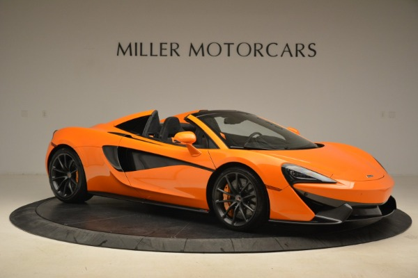 Used 2018 McLaren 570S Spider Convertible for sale Sold at Pagani of Greenwich in Greenwich CT 06830 10