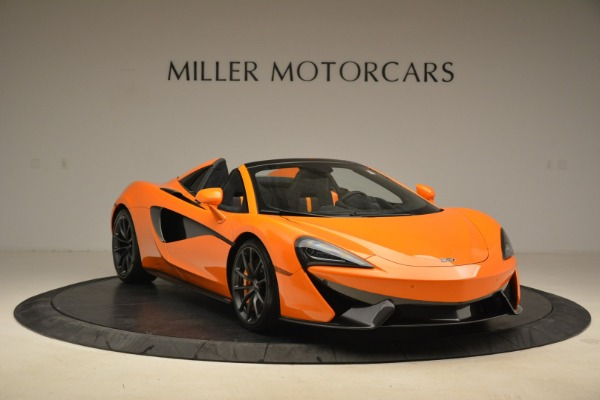 Used 2018 McLaren 570S Spider Convertible for sale Sold at Pagani of Greenwich in Greenwich CT 06830 11