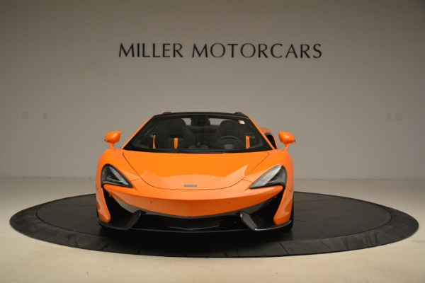 Used 2018 McLaren 570S Spider Convertible for sale Sold at Pagani of Greenwich in Greenwich CT 06830 12