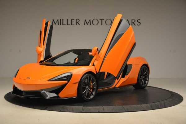Used 2018 McLaren 570S Spider Convertible for sale Sold at Pagani of Greenwich in Greenwich CT 06830 14
