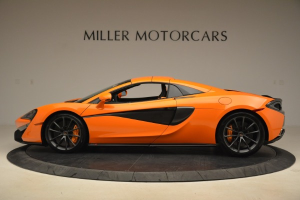 Used 2018 McLaren 570S Spider Convertible for sale Sold at Pagani of Greenwich in Greenwich CT 06830 16
