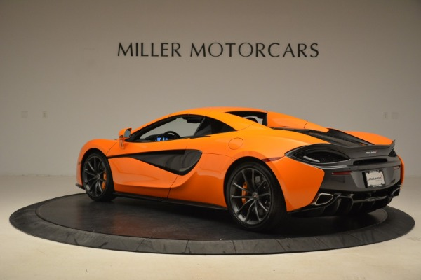 Used 2018 McLaren 570S Spider Convertible for sale Sold at Pagani of Greenwich in Greenwich CT 06830 17