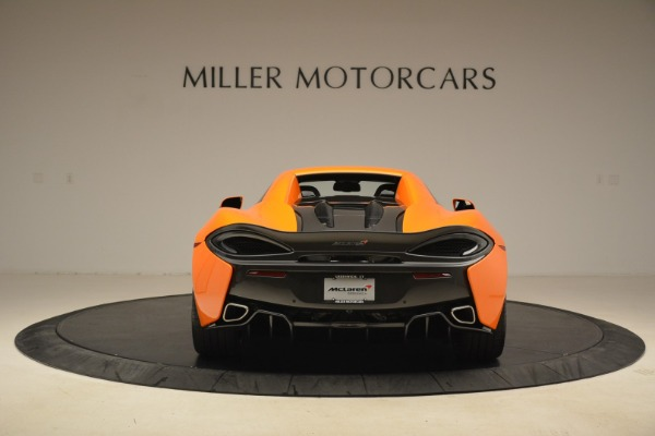 Used 2018 McLaren 570S Spider Convertible for sale Sold at Pagani of Greenwich in Greenwich CT 06830 18