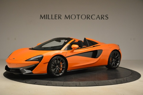 Used 2018 McLaren 570S Spider Convertible for sale Sold at Pagani of Greenwich in Greenwich CT 06830 2