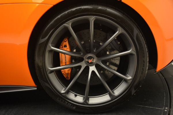 Used 2018 McLaren 570S Spider Convertible for sale Sold at Pagani of Greenwich in Greenwich CT 06830 24