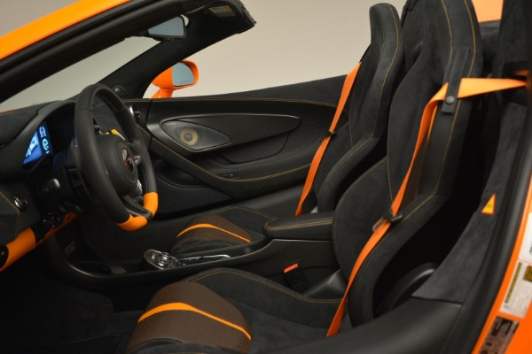 Used 2018 McLaren 570S Spider Convertible for sale Sold at Pagani of Greenwich in Greenwich CT 06830 26