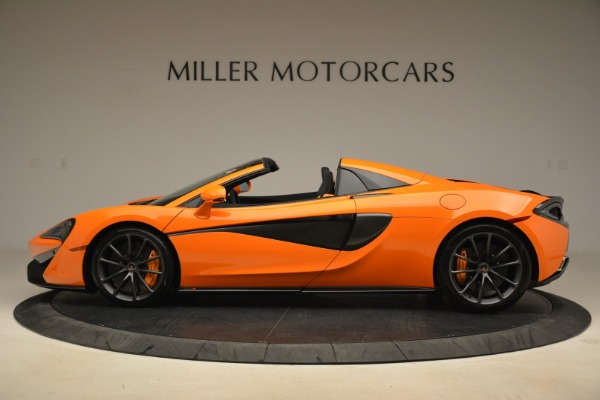 Used 2018 McLaren 570S Spider Convertible for sale Sold at Pagani of Greenwich in Greenwich CT 06830 3