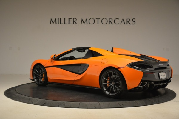 Used 2018 McLaren 570S Spider Convertible for sale Sold at Pagani of Greenwich in Greenwich CT 06830 4