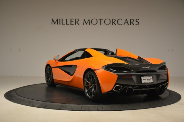 Used 2018 McLaren 570S Spider Convertible for sale Sold at Pagani of Greenwich in Greenwich CT 06830 5