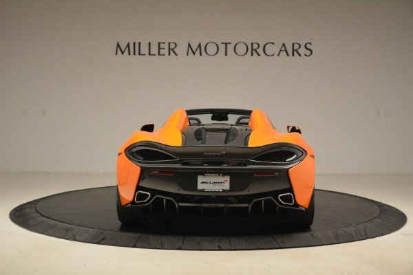 Used 2018 McLaren 570S Spider Convertible for sale Sold at Pagani of Greenwich in Greenwich CT 06830 6