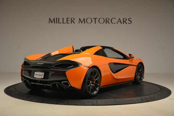 Used 2018 McLaren 570S Spider Convertible for sale Sold at Pagani of Greenwich in Greenwich CT 06830 7