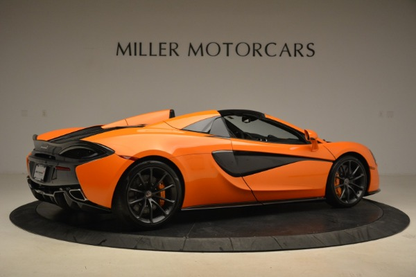 Used 2018 McLaren 570S Spider Convertible for sale Sold at Pagani of Greenwich in Greenwich CT 06830 8