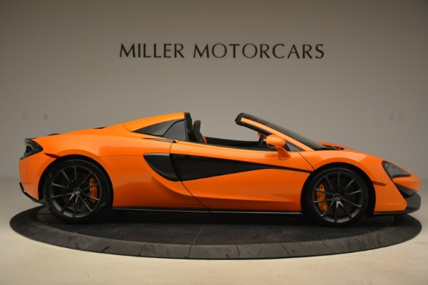 Used 2018 McLaren 570S Spider Convertible for sale Sold at Pagani of Greenwich in Greenwich CT 06830 9