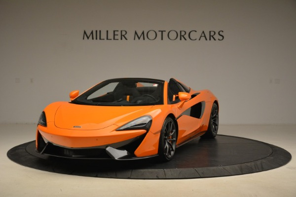 Used 2018 McLaren 570S Spider Convertible for sale Sold at Pagani of Greenwich in Greenwich CT 06830 1