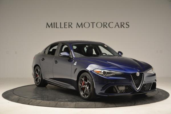 New 2018 Alfa Romeo Giulia Quadrifoglio for sale Sold at Pagani of Greenwich in Greenwich CT 06830 11