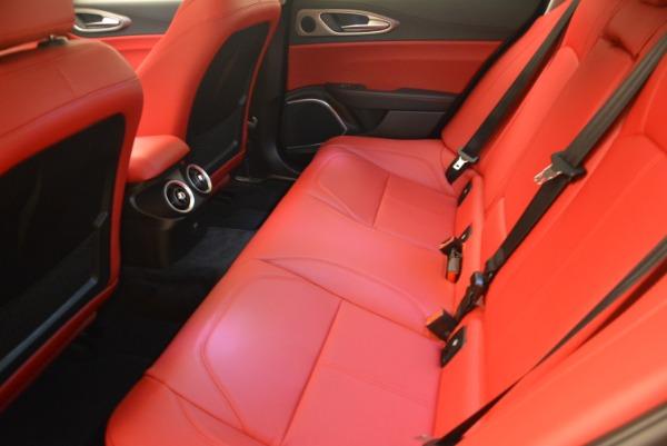 New 2018 Alfa Romeo Giulia Sport Q4 for sale Sold at Pagani of Greenwich in Greenwich CT 06830 17