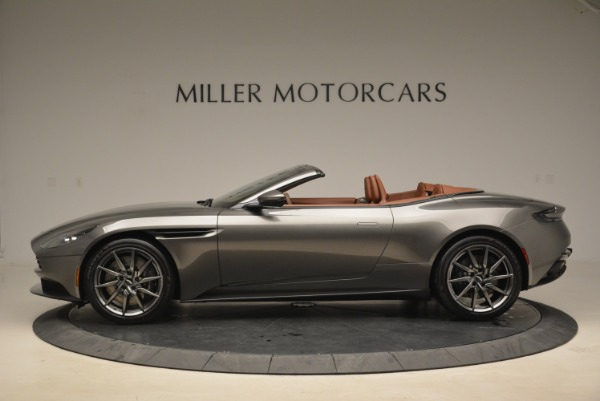 New 2019 Aston Martin DB11 Volante for sale Sold at Pagani of Greenwich in Greenwich CT 06830 3