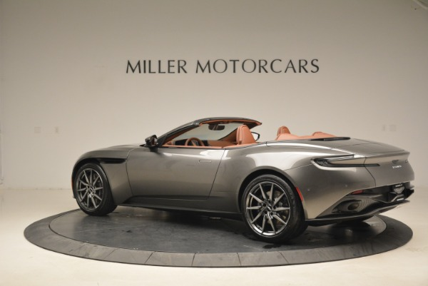 New 2019 Aston Martin DB11 Volante for sale Sold at Pagani of Greenwich in Greenwich CT 06830 4