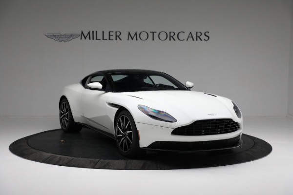 New 2018 Aston Martin DB11 V8 Coupe for sale Sold at Pagani of Greenwich in Greenwich CT 06830 10