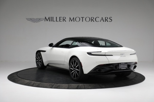 New 2018 Aston Martin DB11 V8 Coupe for sale Sold at Pagani of Greenwich in Greenwich CT 06830 4